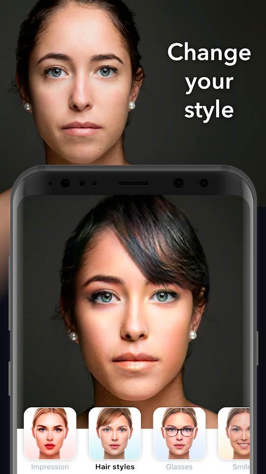 приложение для придания бликов фотографиям фотографии красивых девушек