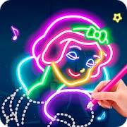 Learn To Draw Glow Princess